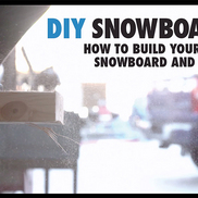 DIY Snowboard